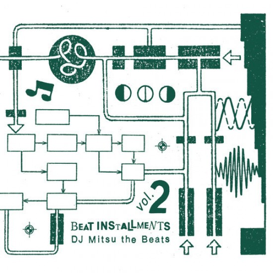 DJ Mitsu The Beats『Beat Installments Vol.2』